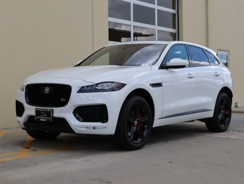 Certified Pre-Owned 2019 Jaguar F-PACE S AWD SUV