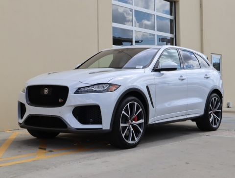 New 2020 Jaguar F-PACE SVR AWD SUV