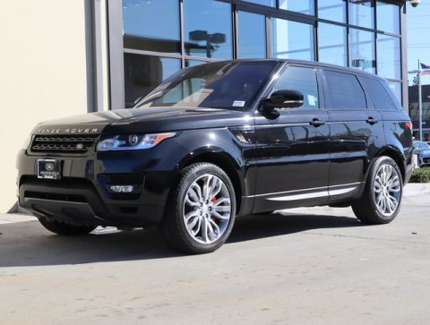 Pre-Owned 2016 Land Rover Range Rover Sport 5.0L V8 Supercharged 4WD 4D Sport Utility